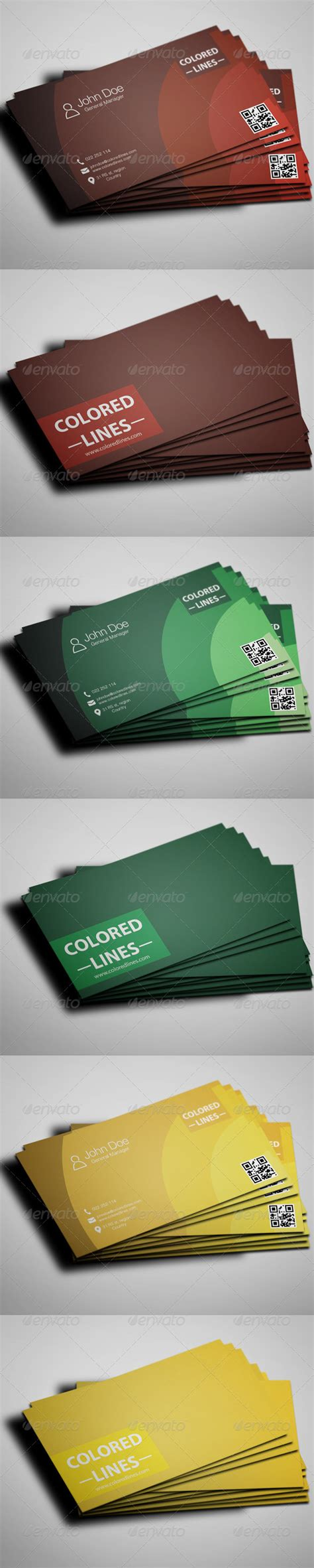 colored line template business cards colored business cards templates by zetka graphicriver
