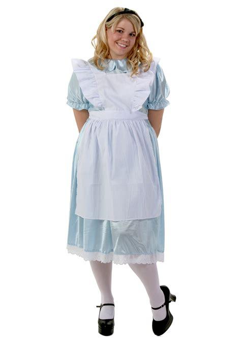 alice in wonderland halloween costume plus size and plus size alice costume