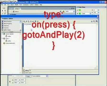button tutorial in flash creating a simple button in flash cs3 doovi