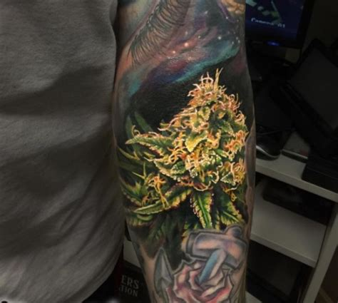 cannabis tattoo designs 42 terrific tattoos ideas designs stock golfian