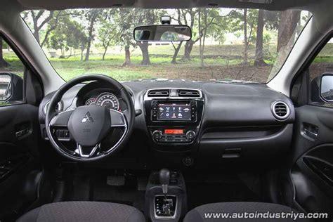 Mirage G4 Glx Interior by 2016 Mitsubishi Mirage Gls Cvt Car Reviews