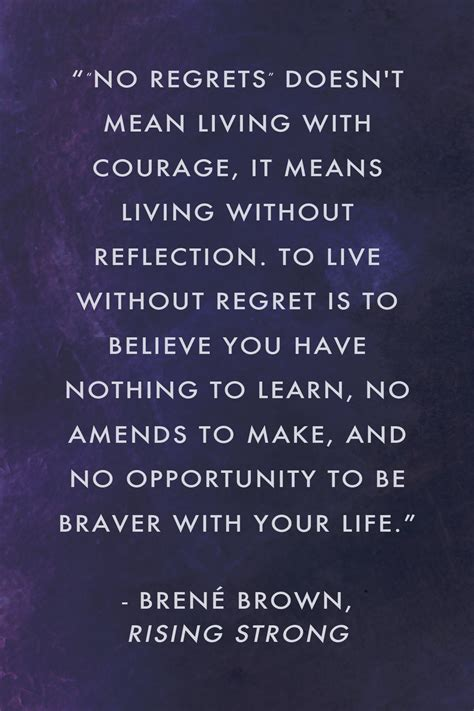 quotes about regret bren 233 brown on regret quotes from rising strong