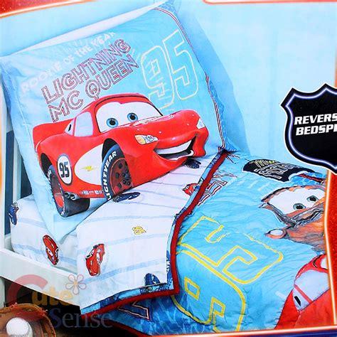 disney cars toddler bedding disney cars mcqueen toddler bedding set 4pc reversible