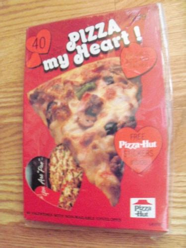 pizza hut valentines 115 best collect pizza hut images on cooking