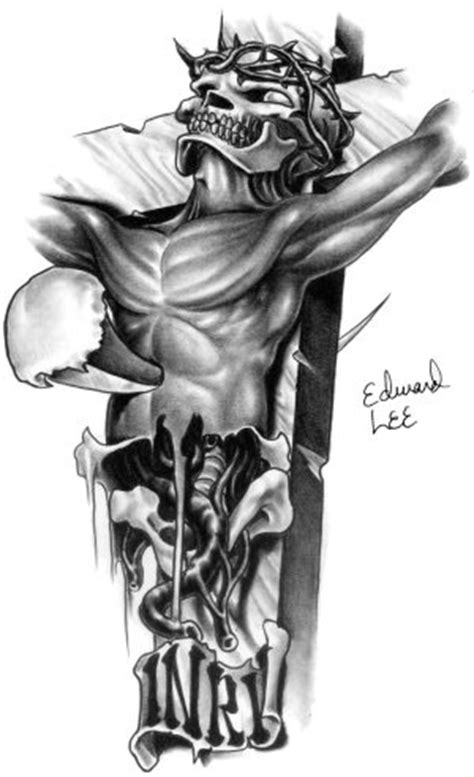 jesus inri tattoo designs tattoos drawings of crosses tattoo cross 10 b o tattoodon