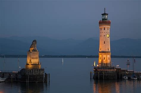 Lake Home Interiors by The Harbor Gate To The Island Of Lindau In Lake Constance