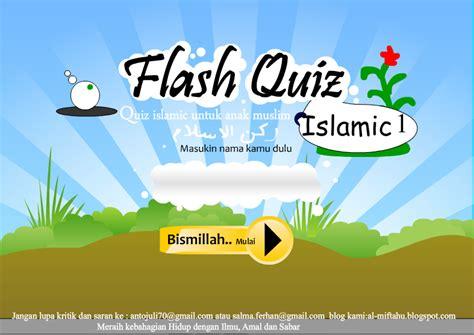 membuat game edukasi dengan flash 8 game quiz islamic level 1 rukun islam semangat belajar