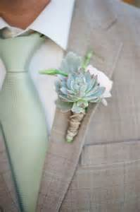 succulent boutonniere branches event floral company at louland falls utah wedding florist
