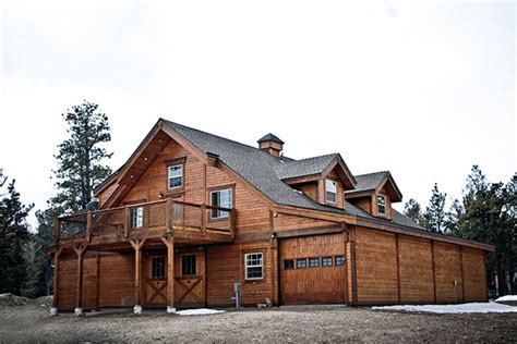 Barn With Living Quarters Rustic Colorado Apartment Barn Stable Style
