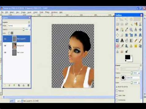 tutorial gimp imvu gimp and imvu tutorial 2 youtube