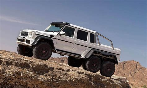 Mercedes G63 Amg 6x6 by Mercedes G63 Amg 6x6 Newport Convertible