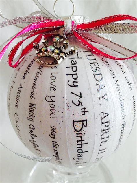 Unique Handmade Birthday Gifts - birthday gift unique and personalized ornaments