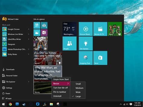 digital windows how to use and customize the windows 10 start menu
