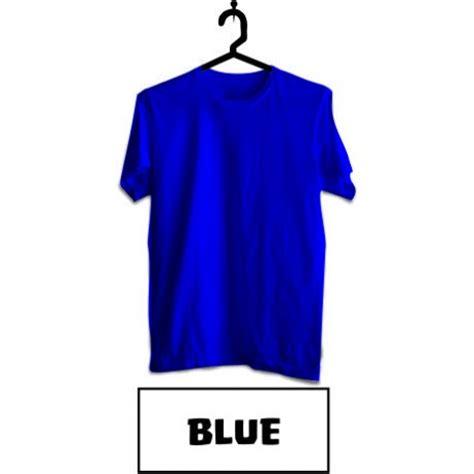Kaos Polos Biru Blue Kaos Polos Combed 30s Warna Premium baju biru polos clipart best