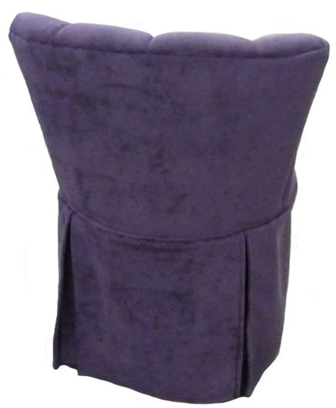 vanity chair with skirt elizabeth swivel vanity chair with kick pleat skirt