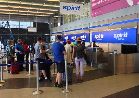 Spirit Airlines Check In | file spirit airlines check in 10000 west o hare ave