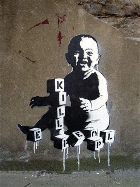 robert banksy  street graffiti artist damn cool pictures
