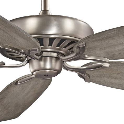 great room traditional burnished nickel ceiling fan