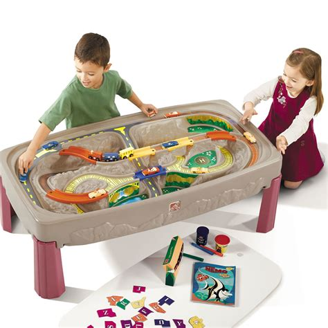 Step2 Deluxe Road And Track Table deluxe road table tables by step2