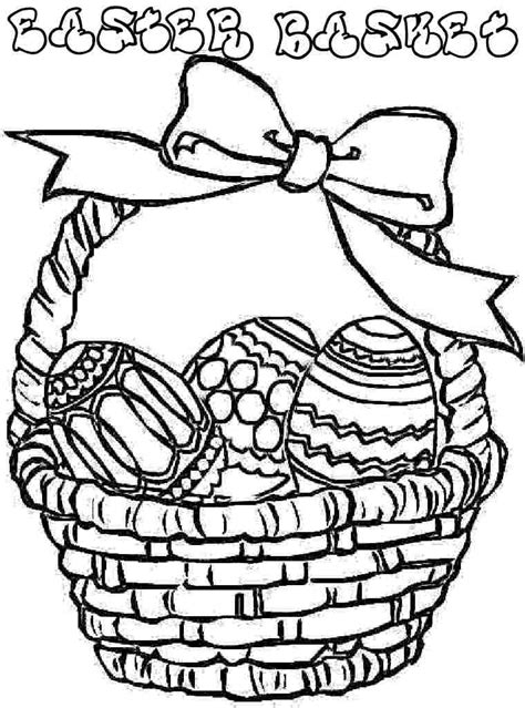 easter basket pics clipartsco