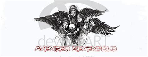 Kaos Avenged Sevenfold A7x Logo 1 a7x logo gambar logo