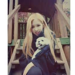blackpink rose instagram blackpink 블랙핑크 ros 233 로제 with dalgom cute blackpink