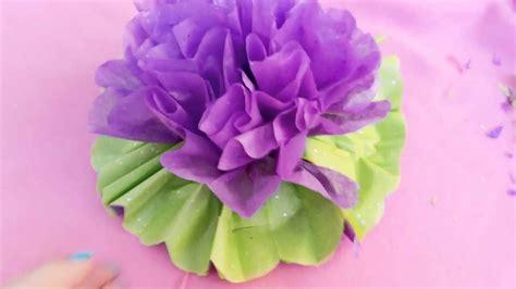 como hacer flores de papel crepe faciles y bonitas youtube c 243 mo hacer flores de papel crepe youtube