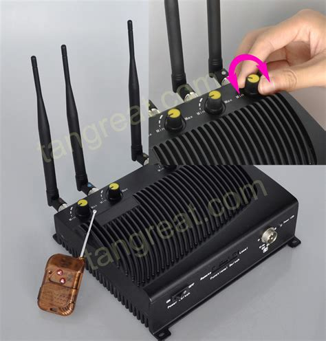 Wifi Jammer china adjustable cellular phone and wifi jammer with remote tg 4ca photos pictures