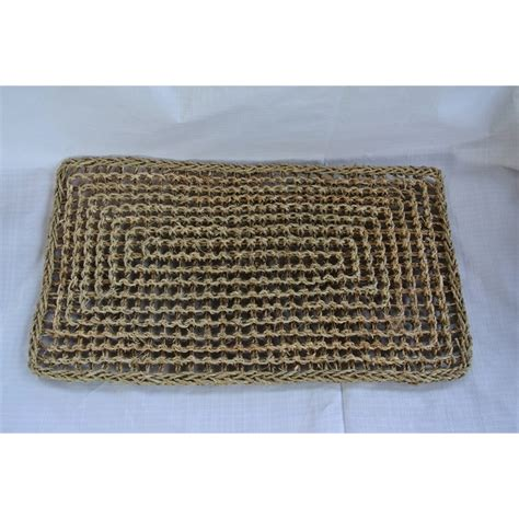 63 x 35cm seagrass door mat bunnings warehouse