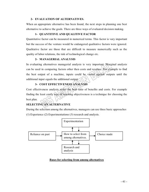 Mba Lecture Notes On Leadership by Principles Of Management Lecture Notes For Mba