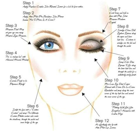 where do you put your makeup on steps to perfect makeup beauty pinterest see best