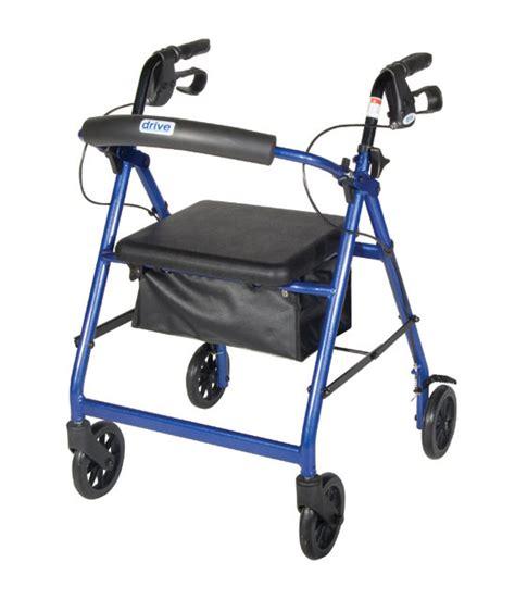 drive rollator drive r726 drive medical walker rolling walker