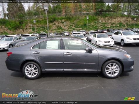 light gray lexus 2012 lexus es 350 nebula gray pearl light gray photo 5
