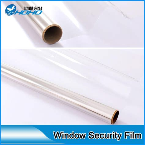 window security film high strength 8mil clear safety film for glass window 20