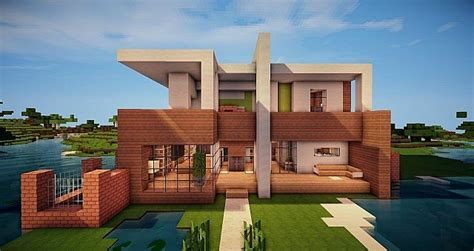 modern house minecraft project daring architecture and space planning diamond house in