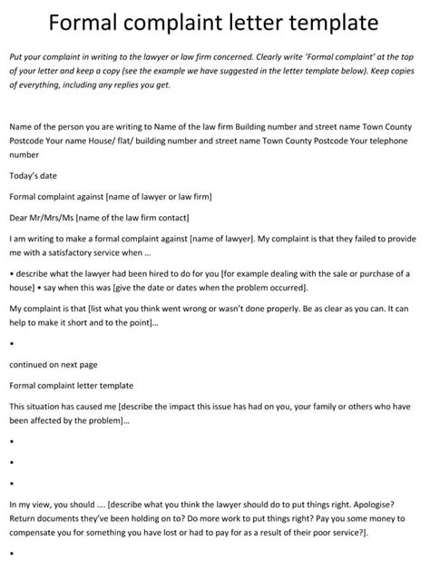 Complaint Letter Format For Courier Service how to write a complaint letter brilliant ideas of how to write a complaint letter sle for