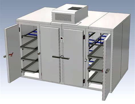100 doors floor 78 21 cadavers 7 racks mortuary refrigerator freezer