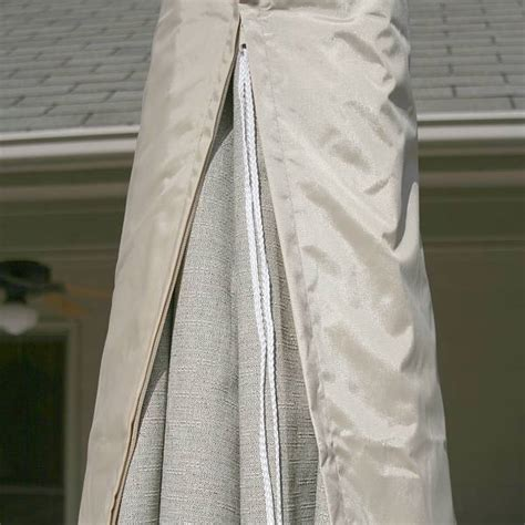 Patio Umbrella Cover Zipper Protective Cover Features For Patio Furniture Covers