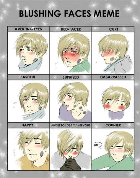 Blush Meme - blush meme benedikt by ceramir on deviantart