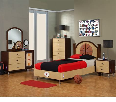 basketball bedroom sets dreamfurniture com nba basketball miami heat bedroom in