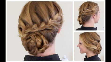 braided formal updo