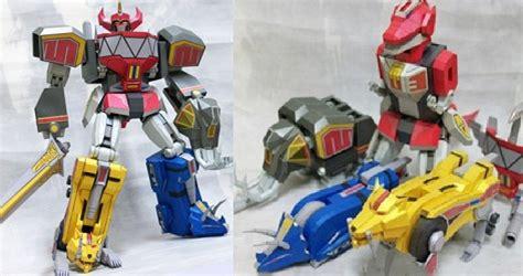 Megazord Papercraft - powers ranger papercraft megazord robot
