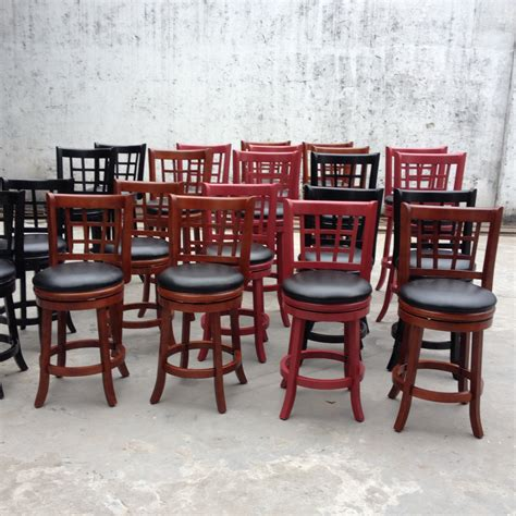 unfinished wood bar stools wholesale wholesale antique solid wood swivel back bar stool