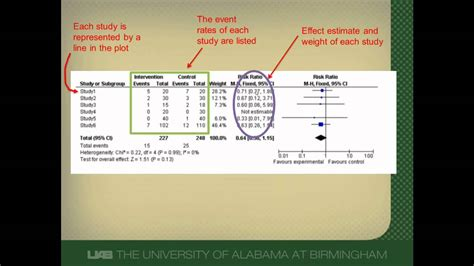 How To Interpret How To Interpret A Forest Plot