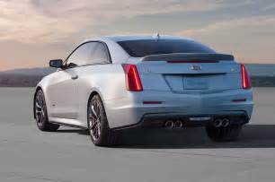 2016 Cadillac Coupe 2016 Cadillac Ats V Coupe Rear Three Quarter 1 Photo 22