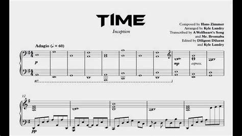 tutorial piano inception inception time kyle landry s arrangement transcription