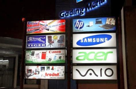 Gambar Dan Freezer Box izin reklame jasa reklame dan billboard harga neon box