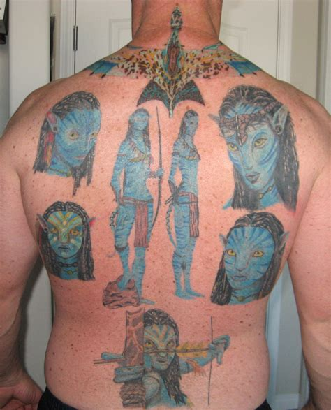 avatar tattoos and they said it couldn t be done avatar superfan gets