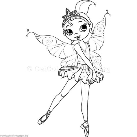 fairy ballerina coloring pages ballet fairy coloring pages getcoloringpages org