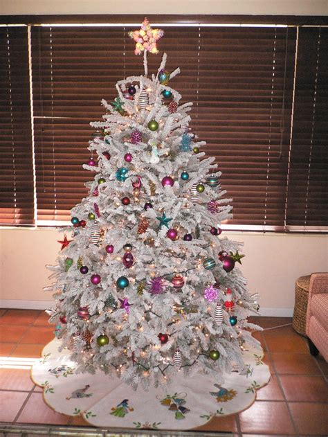 pin by jennifer french on white christmas tree pinterest